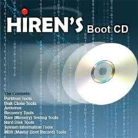 Hirens boot cd 15.2 русская версия